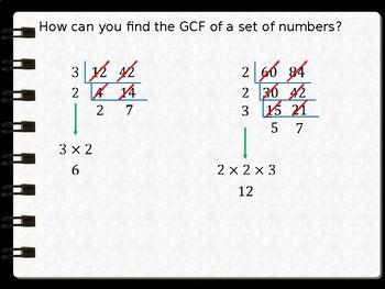 GCF and LCM using Ladder Method