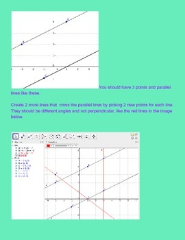 G.CO.9 Prove parallel lines