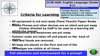 GCSE-AQA-English-Language for the grade 9-1 Exams