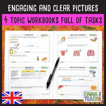 GCSE Biology Paper 1 Workbooks