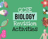 GCSE Biology revision activities pack