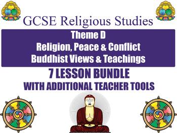 GCSE Buddhism - Religion, Peace & Conflict (7 Lessons)