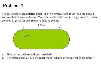 GCSE Circles - Area, Circumeference, Sectors and Segments