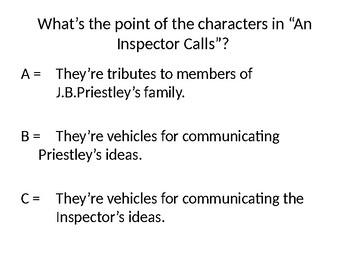 "GCSE English Literature, Modern Texts, ""An Inspector Calls"", the role of Sheila"