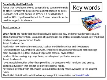 GCSE / Examine Revision  Food Technology