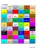 GCSE FRENCH - Me, My Family and Friends 1 (adjectives) -COLOUR MATCH