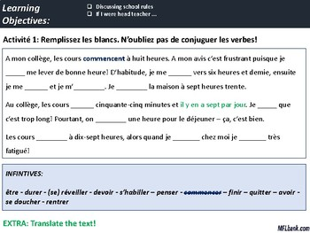 GCSE French - Theme 3 - Study & Employment - Complete Resource Bundle