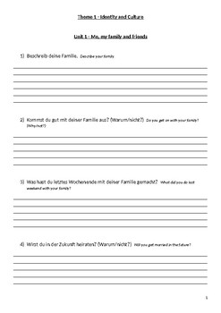 GCSE German (Age 15/16) General Conversation Booklet with Sample Answers Higher