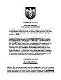 GCSE History: Mein Kampf Exercise