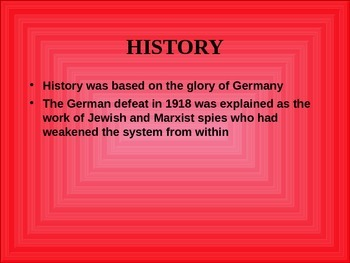 GCSE History Overview of women and youth under the Nazis
