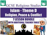 GCSE Islam - Religion, Peace & Conflict (7 Lessons)