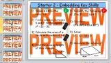 GCSE KS4 (Grade 8-11) Maths Starters - Intermediate - Basi