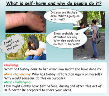 Self Harm and how to help