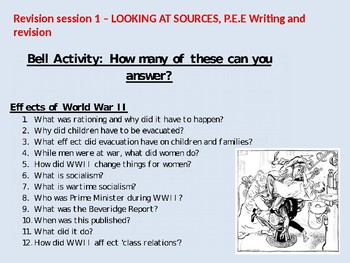GCSE Revision Pack (NHS, Women, Immigration, More)