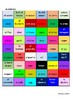 GCSE SPANISH - Free Time Activities (Food and eating out) - COLOUR MATCH