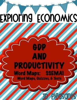 GDP AND PRODUCTIVITY Word Maps: SSEMA1
