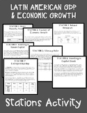 GDP & Factors of Economic Growth in Latin America