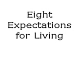 GE Eight Expectations for Living