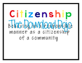 GE Model School Life Principles, Printable, Instant Download