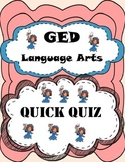 GED Language Arts Quiz