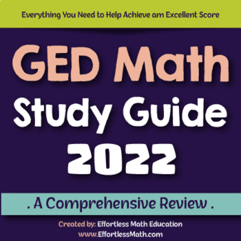 GED Math Study Guide 2020: A Comprehensive Review