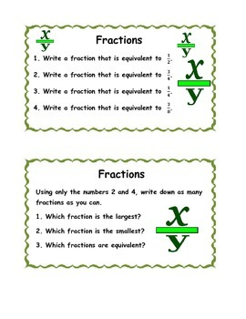 2017 GED Math Task Cards