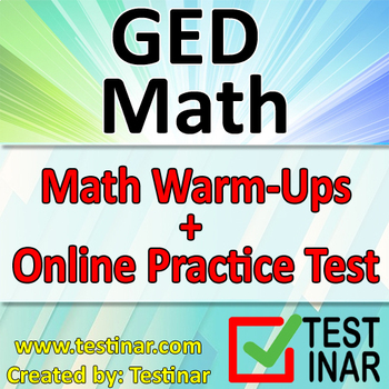 GED Math Warmups + Online GED Math Practice Questions
