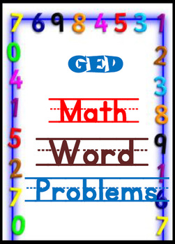 GED Math Worksheet Bundle