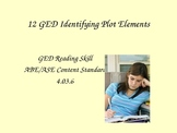 GED Reading Lesson 12 Identifying Plot Elements