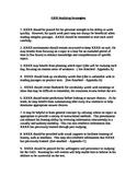 GED Study Strategies