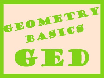 Geometry for GED