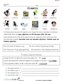 INTRO TO ADJECTIVES, GENDER AGREEMENT (ITALIAN)