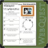 GENE SHOEMAKER Science WebQuest Scientist Research Project Biography Notes