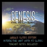 GOOGLE SLIDES/GOOGLE CLASSROOM INTERACTIVE EDITION - GENESIS ONE