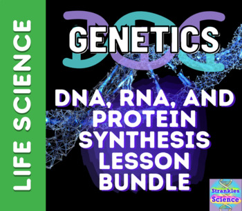 GENETICS: DNA, RNA, and Protein Synthesis LESSON BUNDLE!