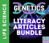 GENETICS Literacy Articles- Growing Bundle!