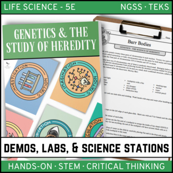 GENETICS - SCIENCE OF HEREDITY: Demo, Lab and Science Stations