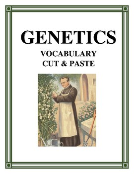 GENETICS VOCABULARY