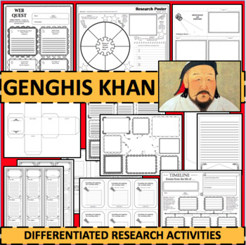 GENGHIS KHAN Biographical Biography Research Activities