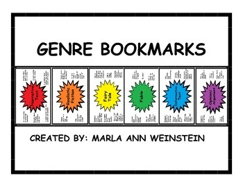 GENRE BOOKMARKS