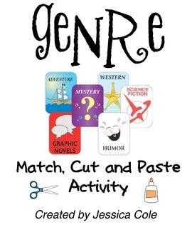 GENRE: Match, Cut, and Paste Activity