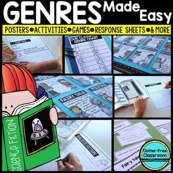 GENRE posters ACTIVITIES lessons GAMES and more