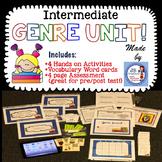 GENRE activity bundle for intermediate grades!  (3rd, 4th, 5th grades)