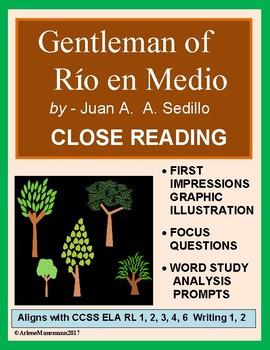 GENTLEMAN of RIO EN MEDIO Close Reading Unit