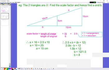 GEO 04 Similar Shapes Scale Factor