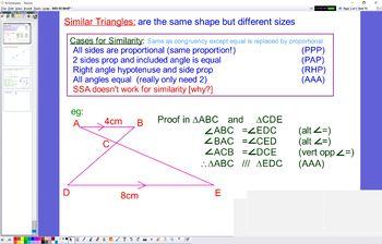 GEO 05 Similar Triangles