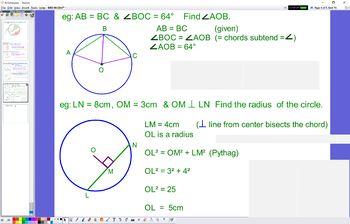 GEO 06 Circles and Chords