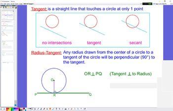 GEO 09 Tangents