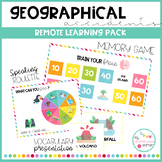 GEOGRAPHICAL ACCIDENTS - Remote learning pack