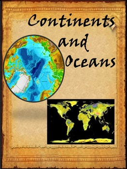 Continents and Oceans - Landforms - Great Explorers - BUNDLE